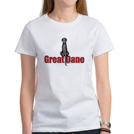 Black Great Dane UC Sit Women's T-Shirt