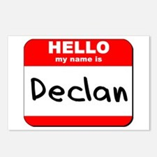 Hello my name is Declan Postcards (Package of 8)