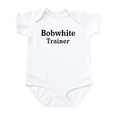 Bobwhite trainer Onesie