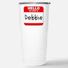 Hello my name is Debbie Travel Mug