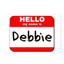 Hello my name is Debbie Postcards (Package of 8)