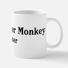 Black Howler Monkey trainer Mug