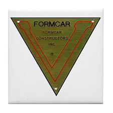 Formcar Constructors Tile Coaster