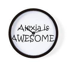 Alexia Wall Clock