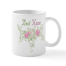Best Nana Hearts Mug