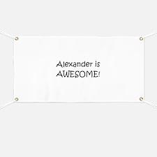Unique Alexander Banner
