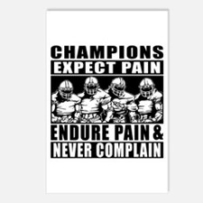 Football Champions Never Postcards (Package of 8)
