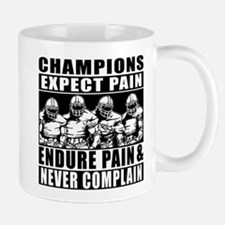 Football Champions Never Complain Mug
