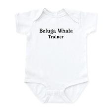 Beluga Whale trainer Infant Bodysuit