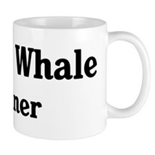 Beluga Whale trainer Small Mug