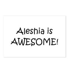 Cool Aleshia Postcards (Package of 8)
