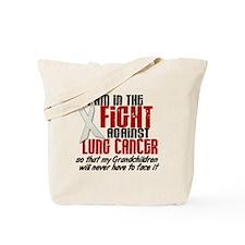 In The Fight 1 LC (Grandchildren) Tote Bag
