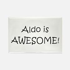 Cute Aldo Rectangle Magnet