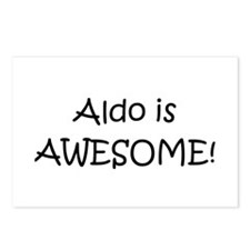Aldo Postcards (Package of 8)