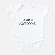 Cute Aldo Infant Bodysuit