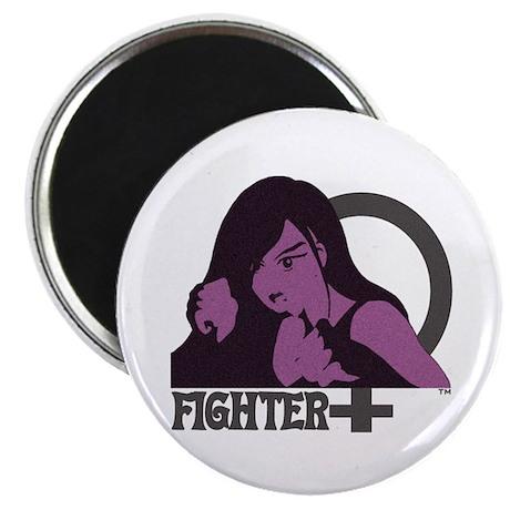 Girl Fighter Magnet