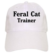 Feral Cat trainer Baseball Cap