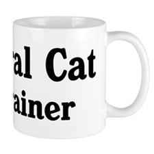 Feral Cat trainer Small Mug
