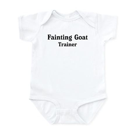 Fainting Goat trainer Infant Bodysuit