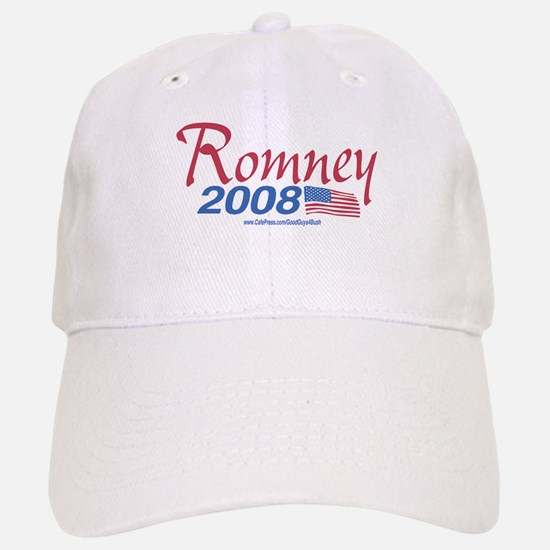 Romney for President 2008 Flag Baseball Baseball Cap
