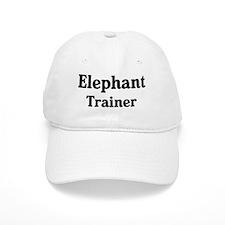 Elephant trainer Baseball Cap