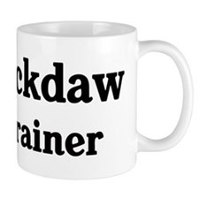 Jackdaw trainer Small Mug