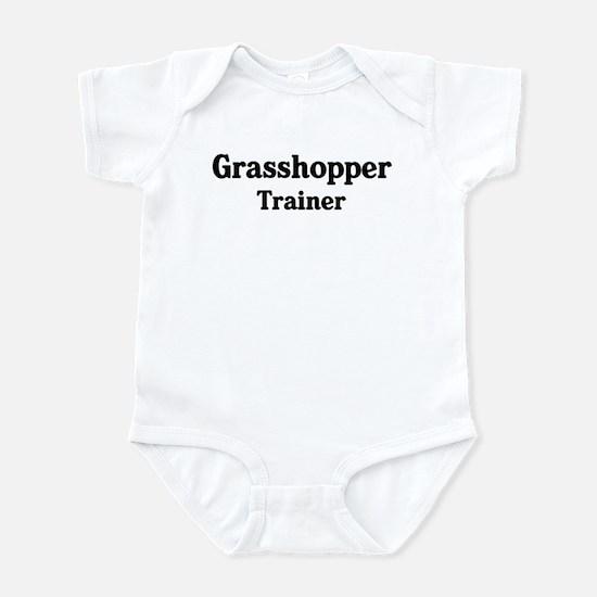 Grasshopper trainer Infant Bodysuit