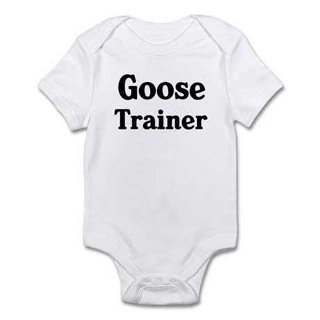 Goose trainer Infant Bodysuit