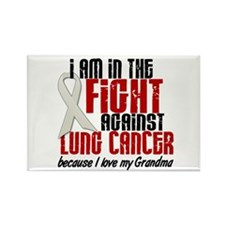 In The Fight 1 LC (Grandma) Rectangle Magnet