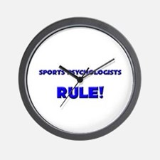Sports Psychologists Rule! Wall Clock