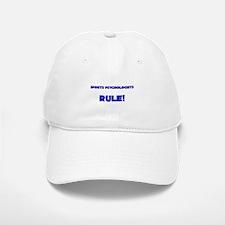 Sports Psychologists Rule! Baseball Baseball Cap