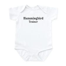 Hummingbird trainer Onesie