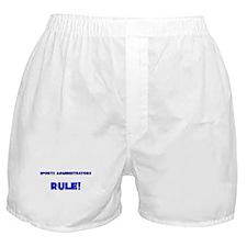 Sports Administrators Rule! Boxer Shorts