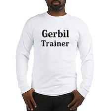 Gerbil trainer Long Sleeve T-Shirt