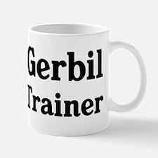 Gerbil trainer Small Small Mug