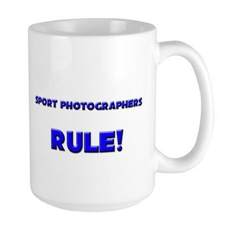 Sport Photographers Rule! Large Mug