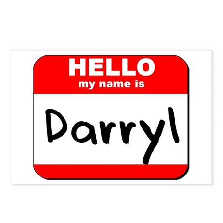 Hello my name is Darryl Postcards (Package of 8)