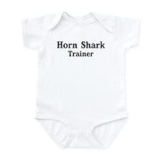 Horn Shark trainer Infant Bodysuit