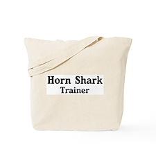 Horn Shark trainer Tote Bag