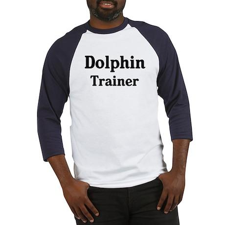 Dolphin trainer Baseball Jersey