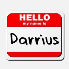 Hello my name is Darrius Mousepad