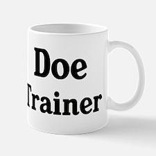 Doe trainer Mug