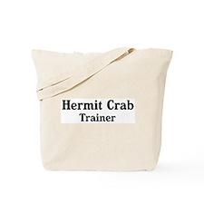 Hermit Crab trainer Tote Bag
