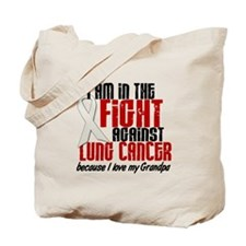 In The Fight 1 LC (Grandpa) Tote Bag