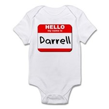 Hello my name is Darrell Infant Bodysuit