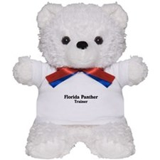 Florida Panther trainer Teddy Bear