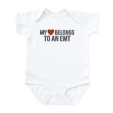 My Heart Belongs to an EMT Infant Bodysuit