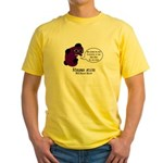 Black Death Yellow T-Shirt