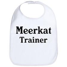 Meerkat trainer Bib
