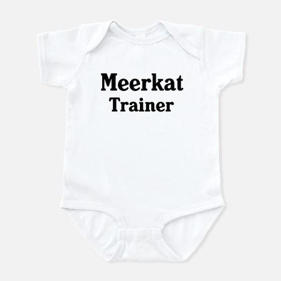 Meerkat trainer Infant Bodysuit